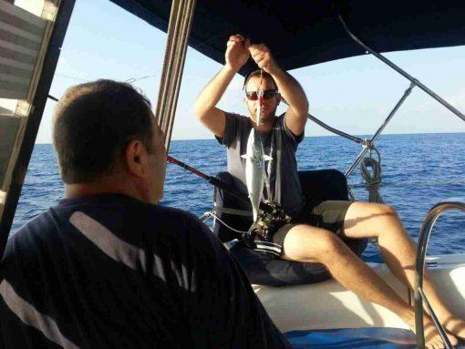 דייג טרולינג מסירה