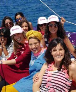 bride to be girls party on yacht